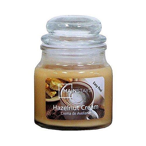 Mainstays Hazelnut Jar Candle, 3 oz.