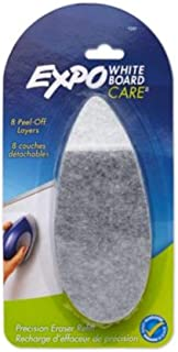 EXPO : Dry Erase Precision Point Eraser Refill Pad, Felt, 9 3/4w x 3 1/4d -:- Sold as 2 Packs of - 1 - / - Total of 2 Each