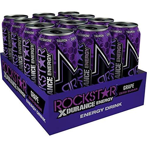 Rockstar Energy XDurance Grap, 12er Pack, 12 x 500 ml inc. 3.00€ EINWEG Pfand