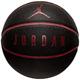 Jordan Ballon Mixte Adulte, Rouge/Noir, 7