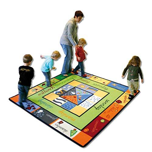 """House of Kids Teppich """"Jahreszeiten"""", Spielteppich für Kinder, 200x200 cm ׀ Wiemann Lehrmittel"""