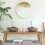 Aufsatzwaschbecken Granit 40 cm - 3