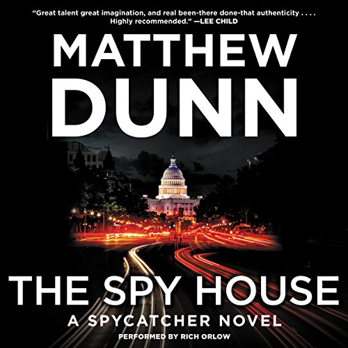 The Spy House audiobook cover art
