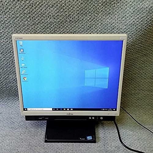 【超大HD液晶】SSD新品換装·無線LAN対応 富士通 第4世代Core i5 23インチワイド 一体型 ESPRIMO K555 マウス&キーボード付属 メモリ8GB USB3.0 Office付き Windows10 Webカメラ パソコン デスクトップPC (新品SSD:256GB)