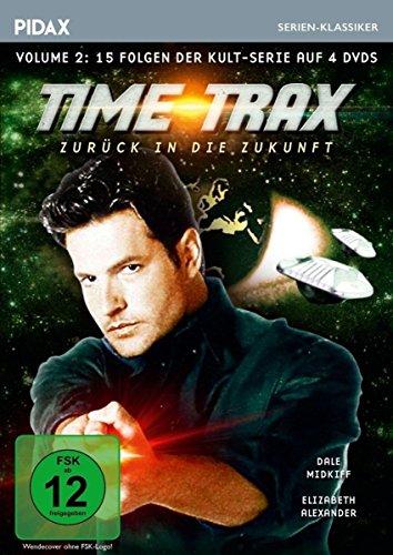 Time Trax - Zurück in die Zukunft, Vol. 2 / Weitere 15 Folgen der Kult-Serie (Pidax Serien-Klassiker) [4 DVDs]