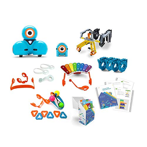 Wonder Workshop Starter Pack – Coding Robot for Kids 6+ – Voice Activated – Navigates Objects – 5 Free Programming STEM Apps – Creating Confident Digital Citizens