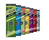 MIX-Packungen von KUSH Herbal Wraps Ultra Slow Burn aus Hanf - ohne Tabak! 7 Packungen