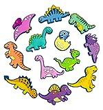 VLOOK Magnets for Kids 3D Dinosaur Fridge Magnets for Toddlers Education Animal Baby Magnets Safety Soft Rubber Preschool Learning Magnet Toys