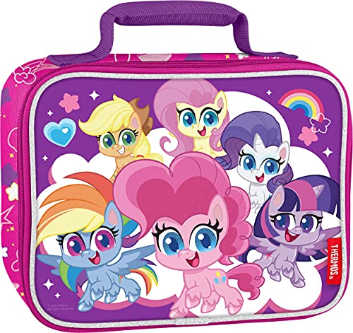 Thermos Soft Lunch Kit, My Little Pony (Styles may vary), 3.5 x 9.5 x 7.5 inches