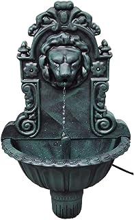 vidaXL Fuente de Pared Cabeza de León Fuente de Agua