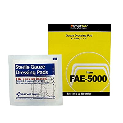 First Aid Only Gauze Pads, 5/Pack from First Aid Only