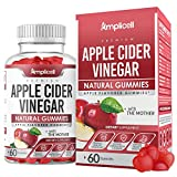 Apple Cider Vinegar Gummies - 60 Apple Cider Gummies for Immunity & Detox - Apple Cider Vinegar with Mother Enzyme - ACV Gummies with Pomegranate & Beetroot - Alternative to Pure Apple Cider Vinegar