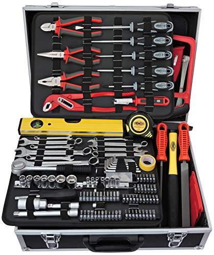 FAMEX 755-49 Werkzeugkoffer gefüllt 119-/insgesamt 162-tlg.
