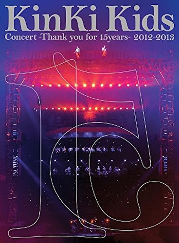 KinKi Kids Concert -Thank you for 15years- 2012-2013(初回限定仕様) [DVD]