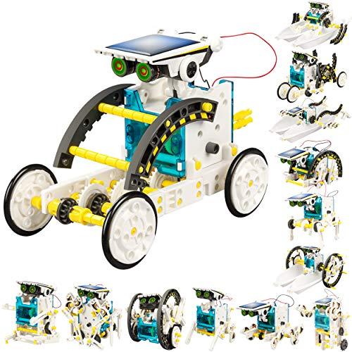 solar power robot kit - 9