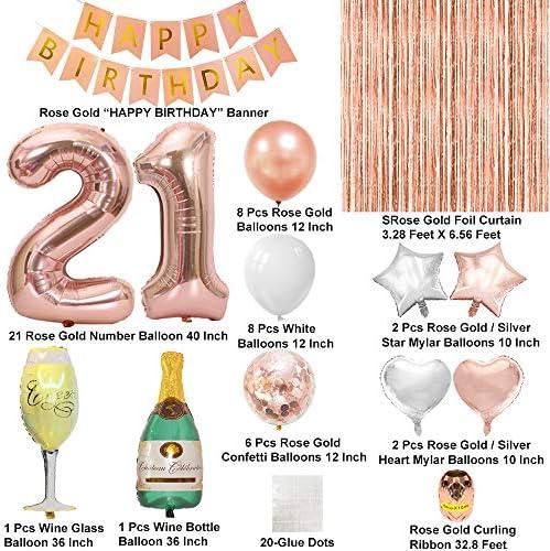 21 birthday decoration _image1