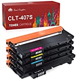 Toner Kingdom Compatible Cartucho de tóner Para Samsung CLT-K4072S CLP-320 CLP-320N CLP-320W CLP-320N CLP-325 CLP-325N CLP-325W CLX-3180 CLX-3180FN CLX-3180FW CLX-3185 CLX-3185F CLX-3185FN CLP-3185FW CLX-3185N CLX-3185W Impresora (4 Paquete )