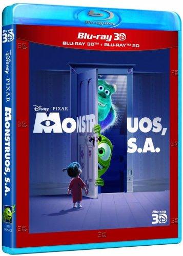 Monstruos, S.A. [Blu-ray 3D] [Blu-ray]