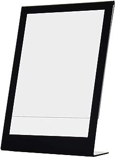 Deflecto Superior Image Slanted Sign Holder, Tabletop and Desk, Vertical, 8.5