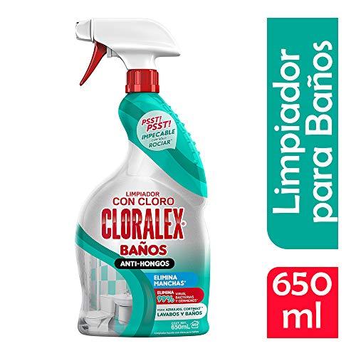 Cloralex Limpiador Baños Antihongos, 650 ml, Pack of 1