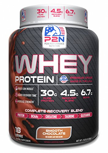 P2N Peak Performance Nutrition P2N Whey Protein Chocolate 2 Pound