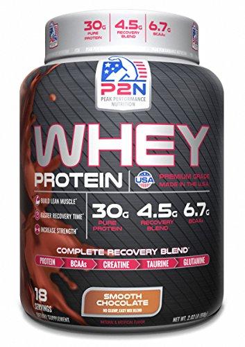 P2N Peak Performance Nutrition P2N Whey Protein, Chocolate, 2 Pound