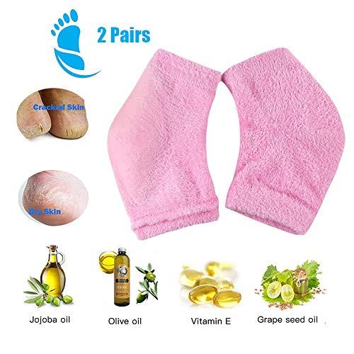 Chaussettes hydratantes en Gel - pour Sec Dur Fissuré Hydratation de la Peau Soin de Peau de Jour,2PCS