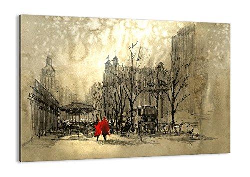Bild auf Leinwand - Leinwandbilder - Einteilig - Breite: 100cm, Höhe: 70cm - Bildnummer 3190 - zum Aufhängen bereit - Bilder - Kunstdruck - AA100x70-3190