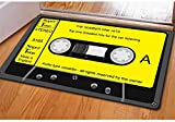 Green HX Cool Black Magnetic Tape Personalized Bathroom Carpets Welcome Entrance Doormats(40cm*60cm)