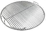 Grillfürst Premium 5mm Edelstahl Rost/Grillrost klappbar für 570er / 57er Grills edelstahl-grillrost 57 cm-51LoRAxG1IL-Edelstahl-Grillrost 57 cm für Kugelgrills (Weber, Napoleon, etc.) für 39,90€