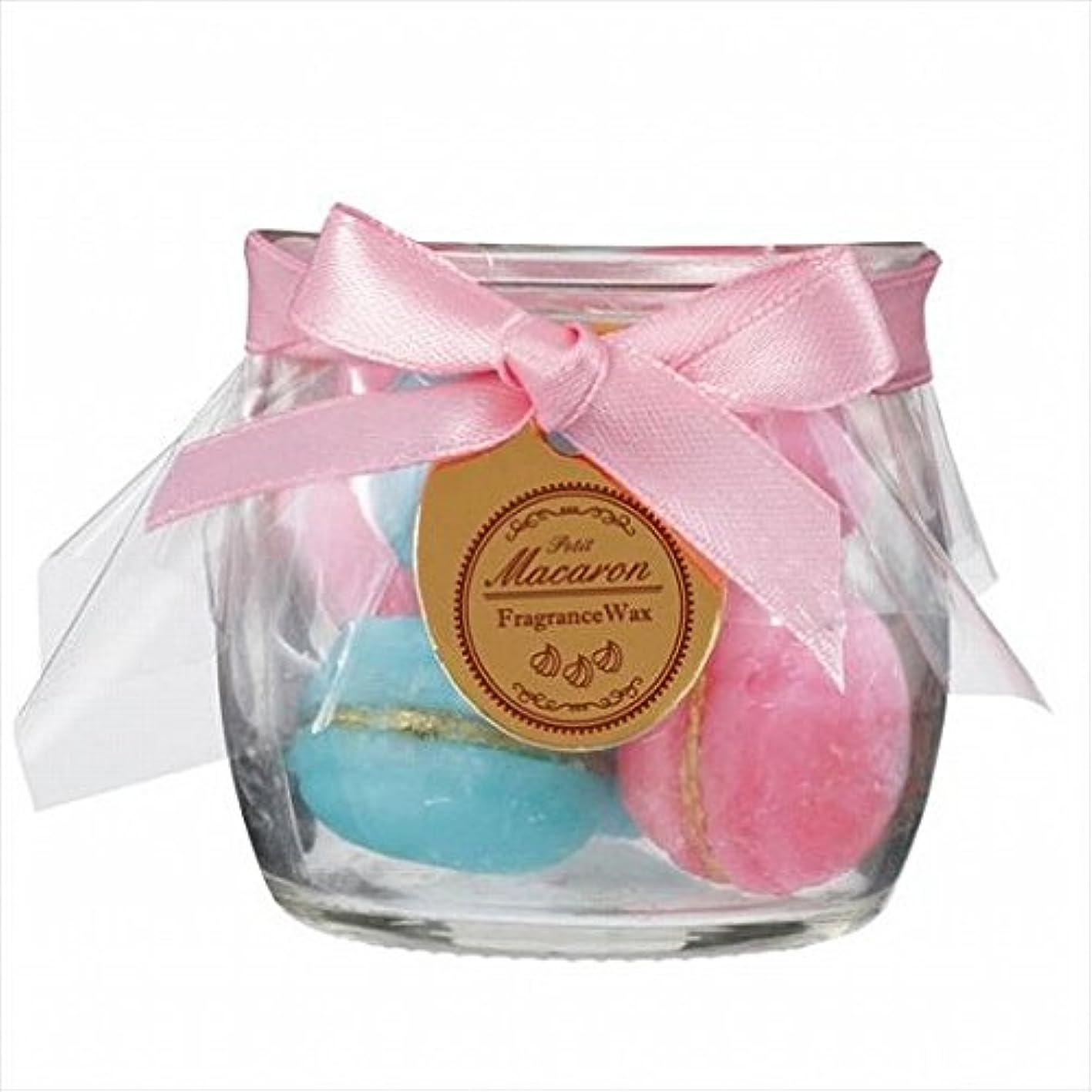 光沢独裁者全体sweets candle(スイーツキャンドル) プチマカロンフレグランス 「 ピーチ 」 キャンドル 60x60x56mm (A3160540)