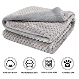 furrybaby Premium Fluffy Fleece Dog Blanket, Soft and Warm Pet Throw for Dogs & Cats