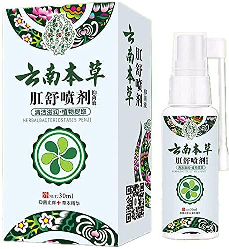 Aambeienbehandeling, Natuurlijke Kruiden Aambeien Spray, Aambei Pijnstillende Producten, Verlichting Jeuk Aambeien Natuurlijke verbranding 30ml