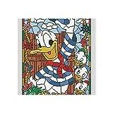 Yokjldh Donald Duck Leinwandbild, Poster, Wanddekoration,