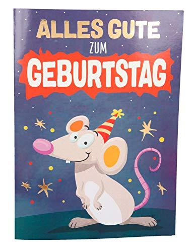 Depesche 0010499-029 - Glückwunschkarte zum Geburtstag mit Lichteffekten und Musik, aufklappbar, außen und innen mit spaßigen Texten bedruckt, mit Umschlag, interaktiv, witzig & besonders originell