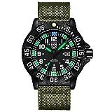 Digitale Armbanduhren Unterwasser 50 Mt wasserdichte Kunststoff Lünette und Weichgummiband LED...