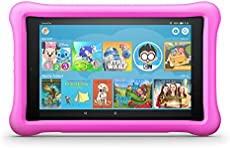 """Fire HD 8 Kids Edition Tablet, 8\\"""" HD Display, 32 GB, Pink Kid-Proof Case (Previous Generation - 8th)"""