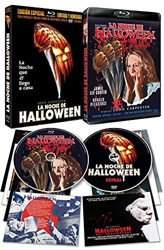 La Noche de Halloween 1978 BD + DVD de Extras Nuevo Master...