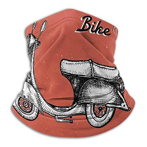 Signo de Scooter Vintage para Bicicleta Alquiler de Bicicletas Ilustración de Grunge...