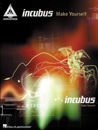 Incubus: Make Yourself (Guitar Tab) (Guitar Recorded Versions) by Incubus (Recorder) (23-Jul-2001) Sheet music