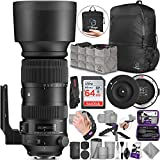 Sigma 60-600mm f/4.5-6.3 DG OS HSM Sports Lens for Nikon F + Sigma USB Dock with...