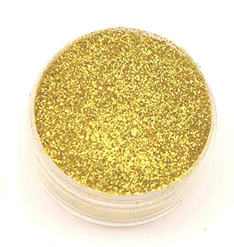 Barco Hologram Glitter (5 grams each container) for Cakes, Cupcakes, Waffles. (Gold)