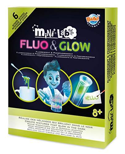 Buki France- Mini Lab Fosfo & Fluo, Colore, 3011