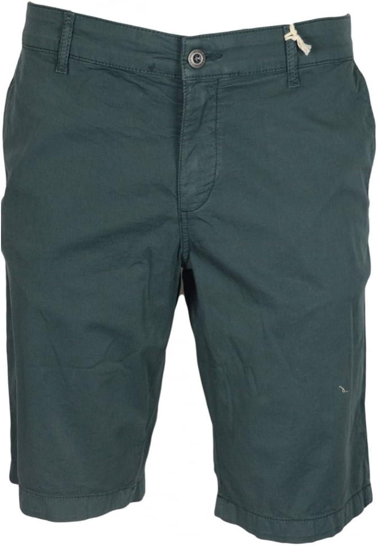 Franklin & Marshall MF180 Leo Skinny Fit Jungle Green Shorts