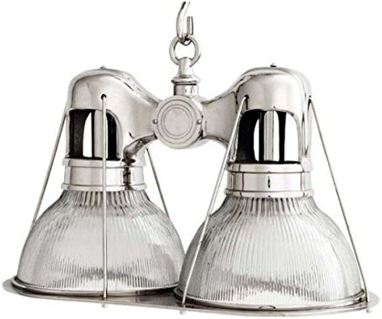 Casa Padrino Doppel Hängeleuchte Deckenleuchte Nickel Finish Industrial Design - - - Industrie Lampe Leuchte Industrieleuchte B01M9IWIE7 | Neues Design  c477ce