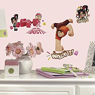Roommates Wreck It Ralph Peel & Stick Wall Decal, Multi-Colour, RMK2143SCS