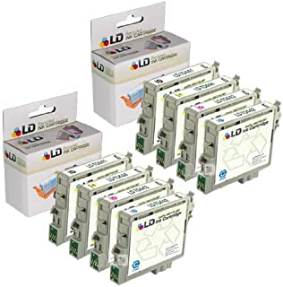 LD Products Remanufactured Ink Cartridge Replacement for Epson T044 ( Black,Cyan,Magenta,Yellow , 8-pack)