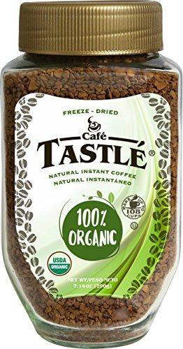 Cafe Tastlé 100% Organic Instant Coffee 714 Ounce