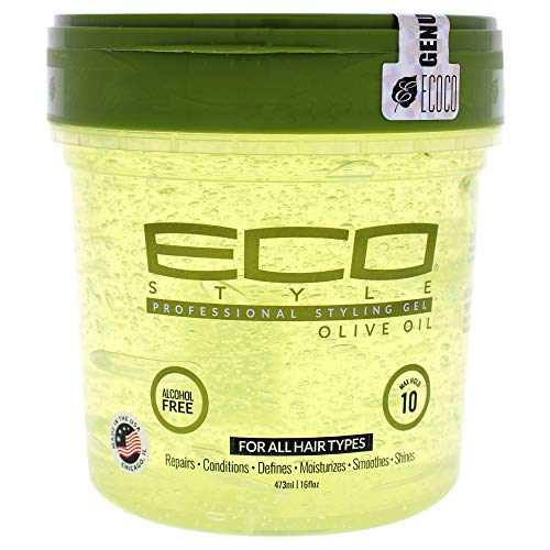 Eco Styler Styling Gel a base de aceite de oliva - Para todo tipo de cabello - Alcohol - 473 ml