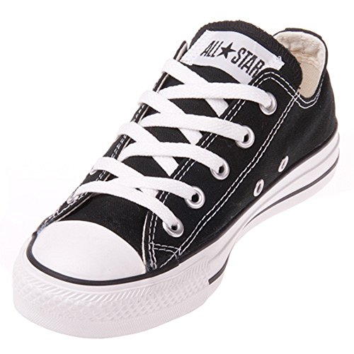 Converse Unisex Chuck Taylor All Star Low Top Black Sneakers - 7 D(M)